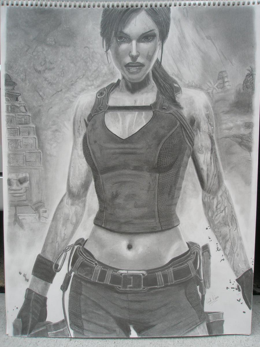 Lara Croft: Tomb Raider by nikkinickles