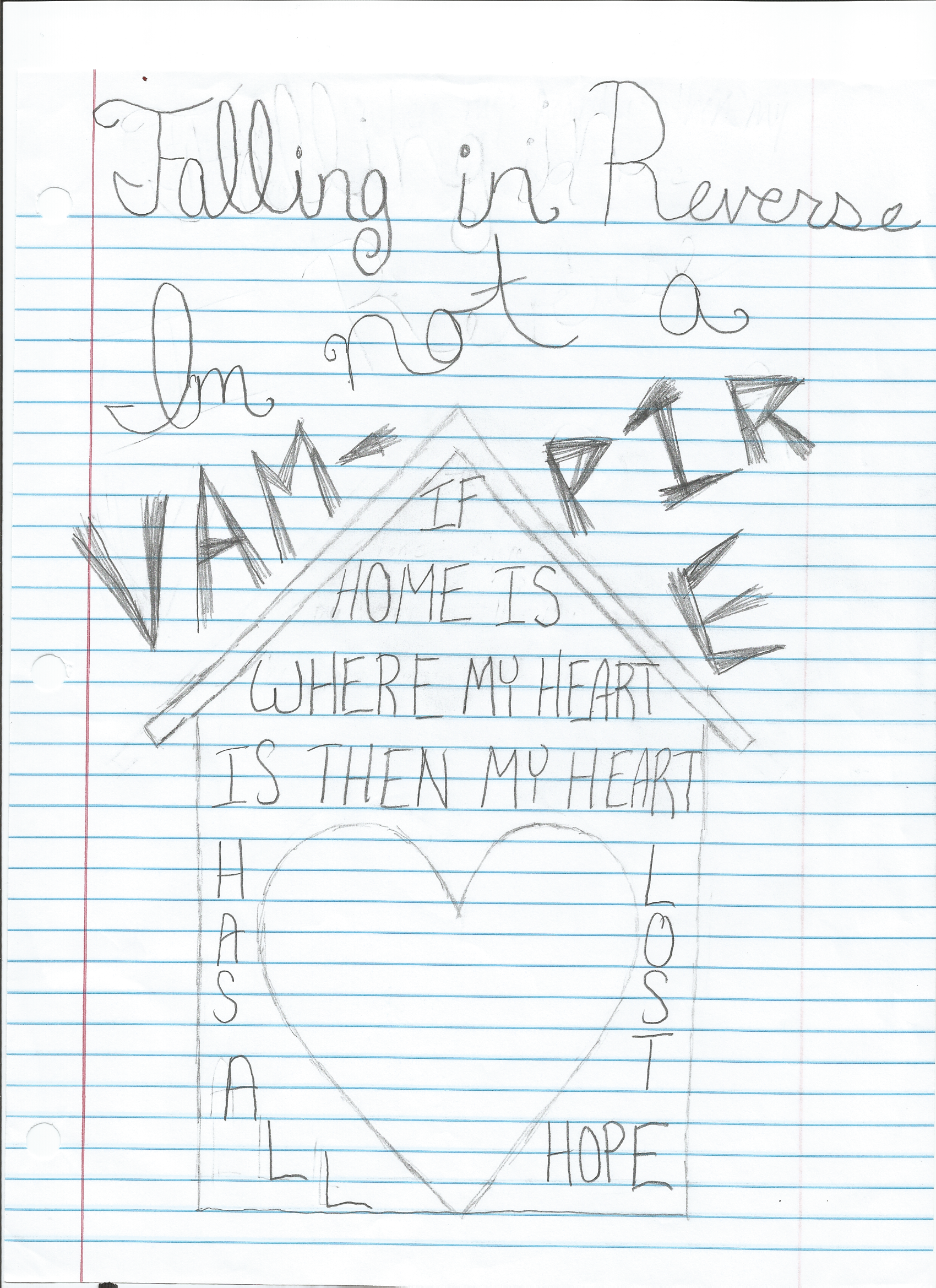 ... I'm Not A Vampire lyrics- Falling in Reverse by EttieHarumi