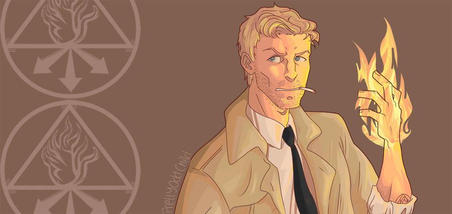 Constantine by prettyoddchild