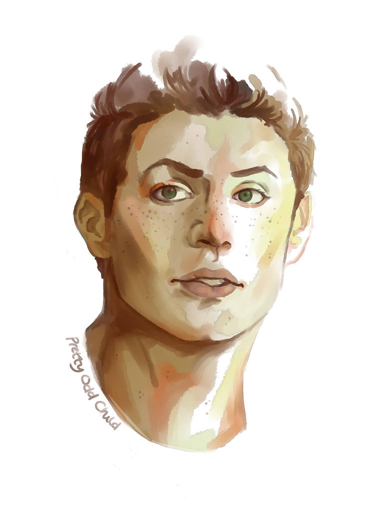 Dean Sketch by prettyoddchild
