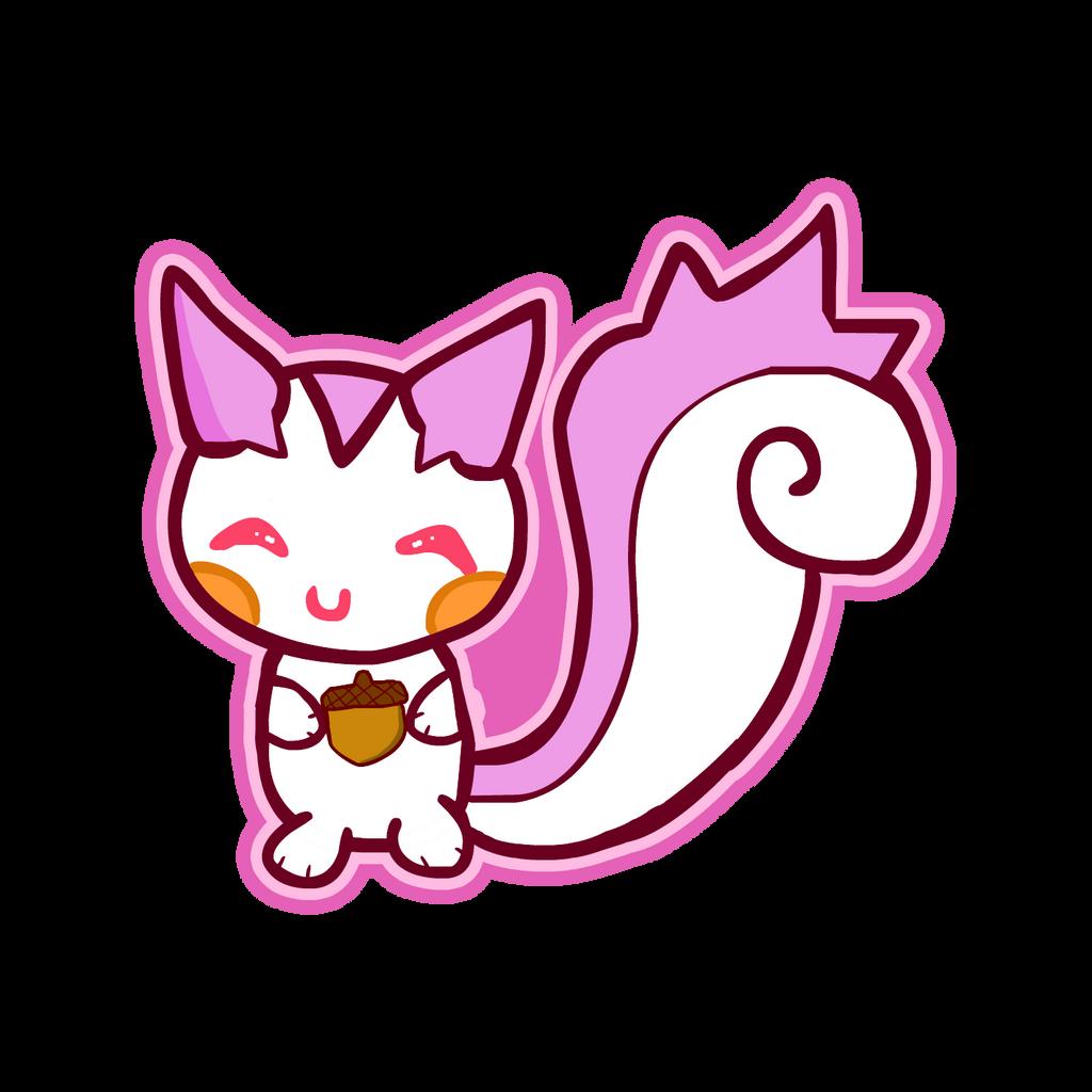 Shiny Pachirisu! by CandyEvie on DeviantArt