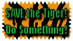 Save The Tigers Stamp by The-Lost-Hope
