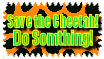 Save the Cheetah Stamp by The-Lost-Hope