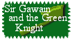 Sir Gawain and the Green Knight Stamp by The-Lost-Hope