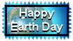Happy Earth Day Stamp by The-Lost-Hope