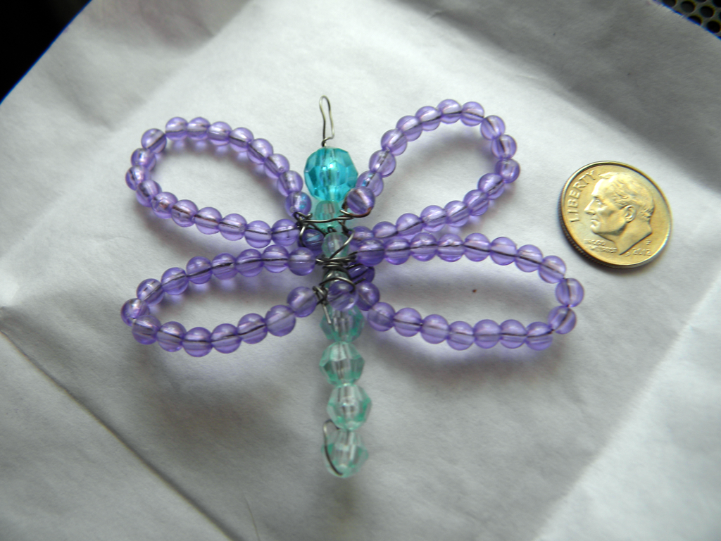 Dragonfly Charm by The-Lost-Hope