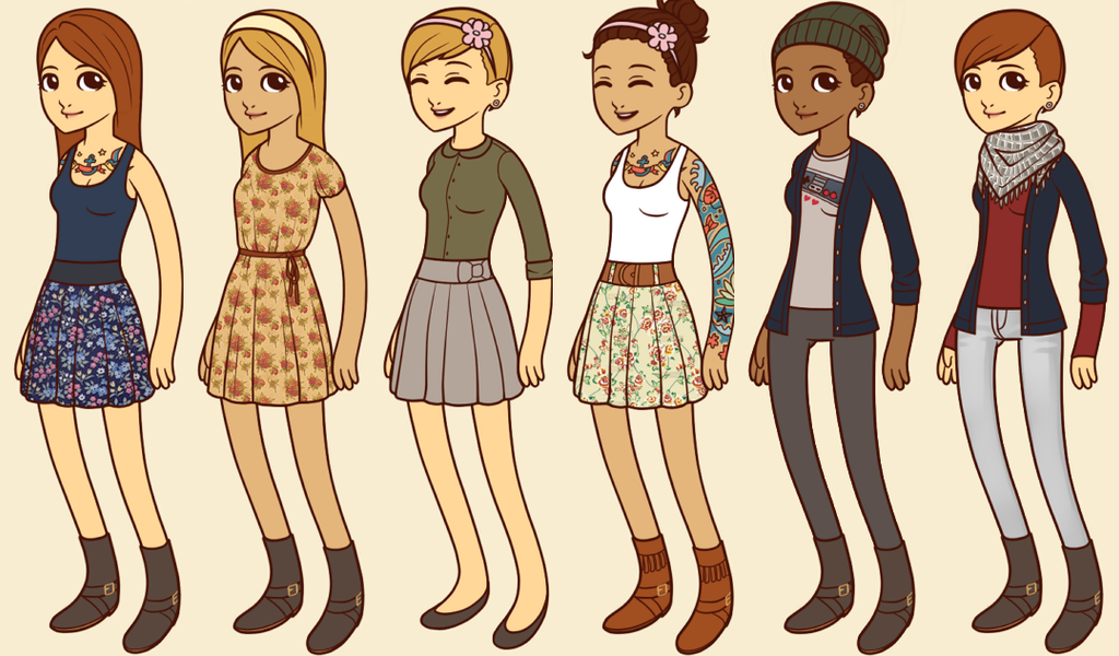 Hipster Girl - Game Made Dump by The-Lost-Hope