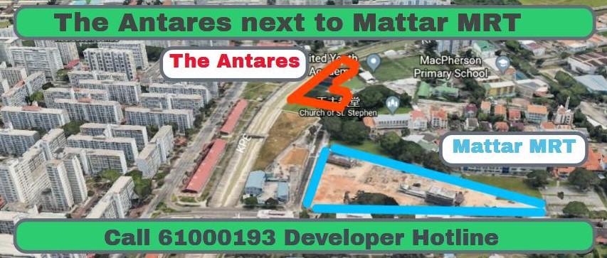 The Antares Condo Showflat