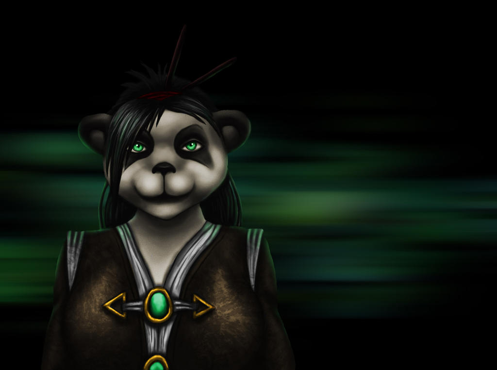 Female Pandaren Monk - WoW by Hailstorm11