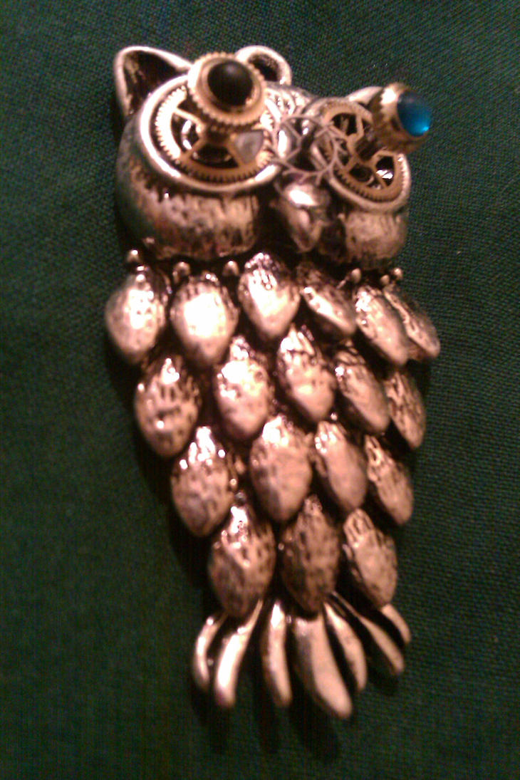 Jasper the Steam Owl 03 by TheRoyalPredator