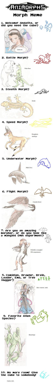 Animorphs Meme by praxcrown5