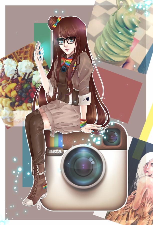 instagram girl by seojinni on deviantart