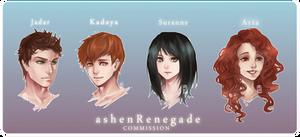 Commission for ashenRenegade