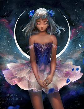 Clair de Lune (speedpaint)