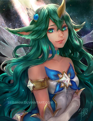 Star Guardian Soraka by Seojinni