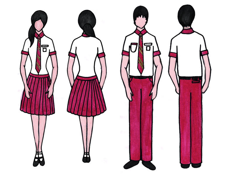 STOMP Design a School Uniform by nzag