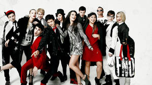 Glee cast for Vogue by mishulka