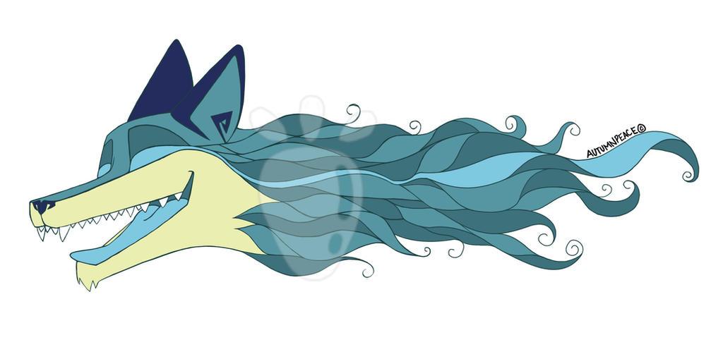 Fox Final Blue by Autumnpeace100