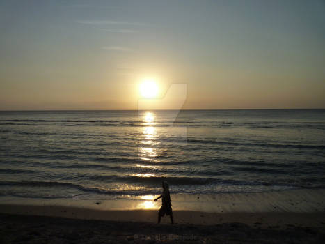 Sunset on Lembogan