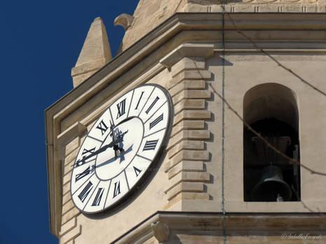 Marseille horloge du quartier du Panier