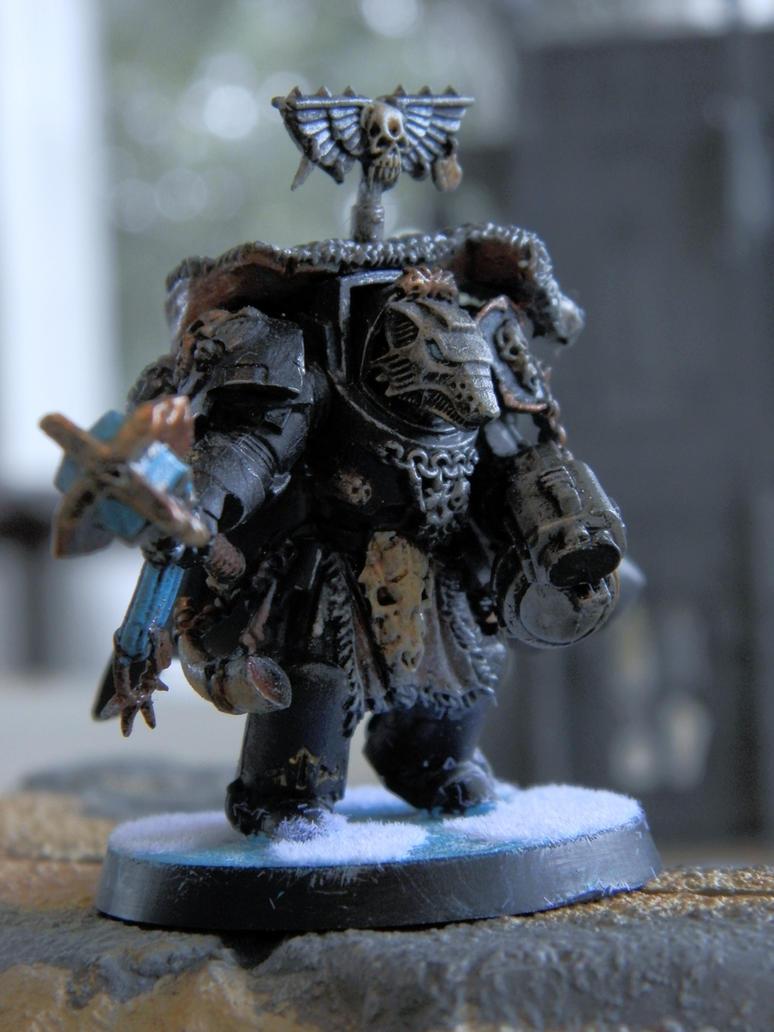 Wolf Priest by MiesterZef
