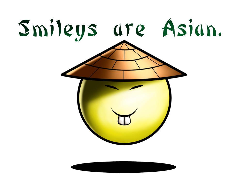 Asian Smiley Emoticon 69
