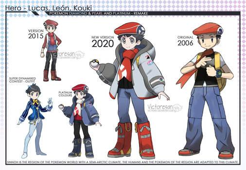 Pokemon Brilliant Diamond Shining Pearl Lucas