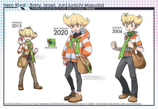 Pokemon Sinnoh Remake Barry