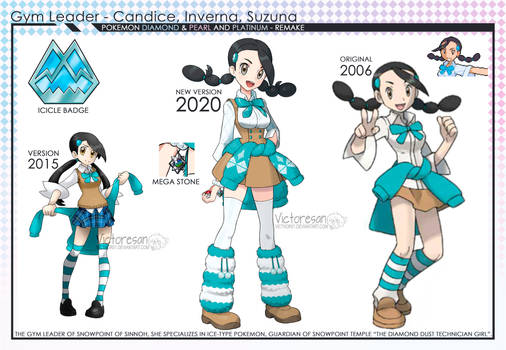 Pokemon Sinnoh Remake Candice