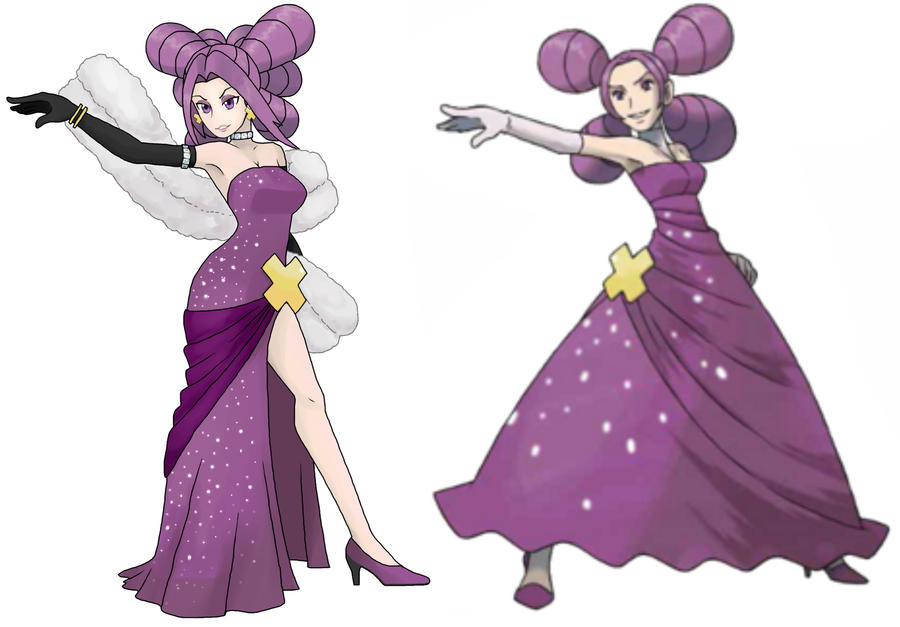 Pokemon Diamond Pearl REMAKE fantina by vikthor01 on ...