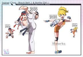 Pokemon Sinnoh Remake trainer class fighter