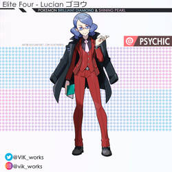 Pokemon Brilliant Diamond Shining Pearl Lucian