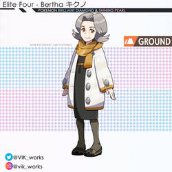 Pokemon Brilliant Diamond Shining Pearl bertha