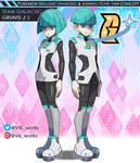 Pokemon BDSP Team Galactic Grunts by vikthor01