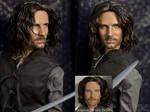 OOAK [Aragorn] Repaint Portrait Doll by naraedoll