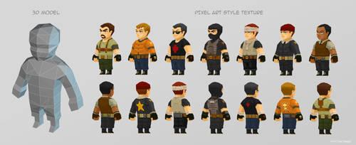 HVA Characters