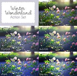 Winter Wonderland Action Set by sabinefischer