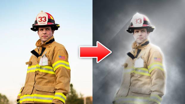 Hero Effect - Photoshop Action