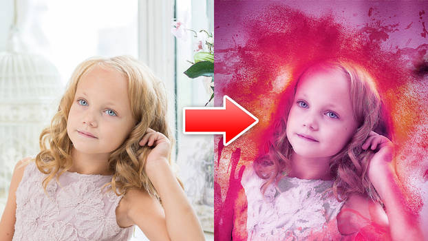 Oil Paint Effect - Photoshop Action