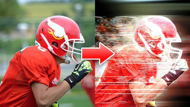 Speed Effect - Photoshop Action