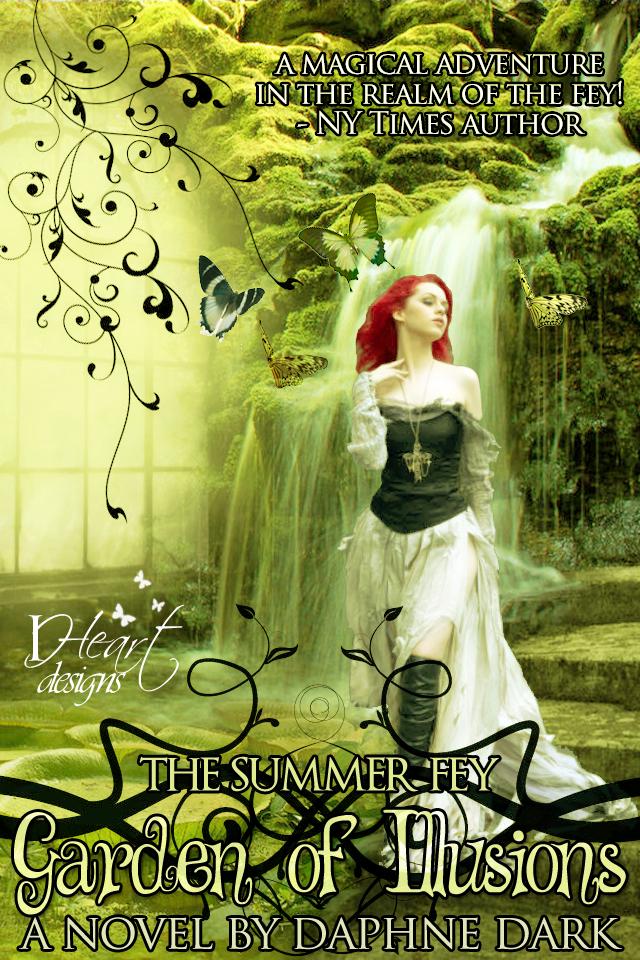 Premade Book Cover Art : Garden of illusions premade fantasy book cover by