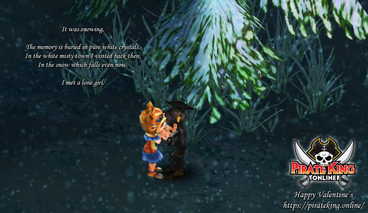 Pirate King Online Valentine's Screenshot Event by LuisaRLZ