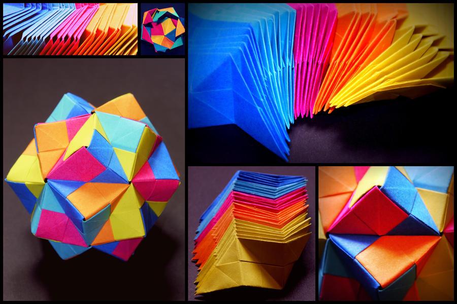 Origami Icosahedron By Blue Like The Sky