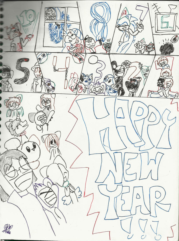 HAPPY NEW YEAR! 2013-2014 by Sammy8D257