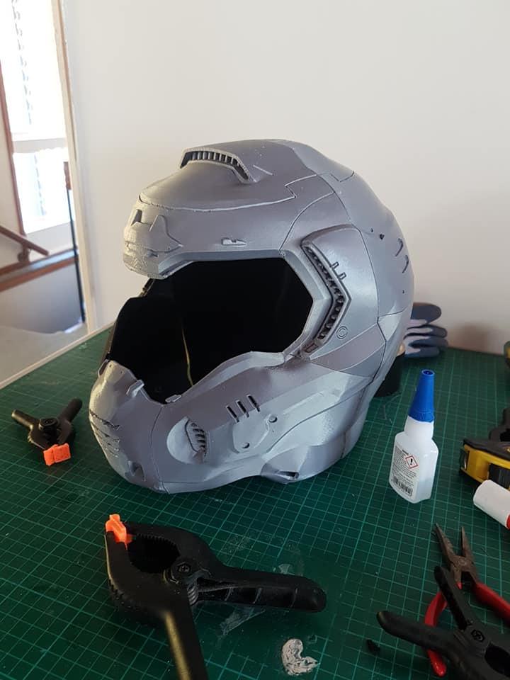 Doom Slayer Helmet 3d Print By Rainyfire On Deviantart