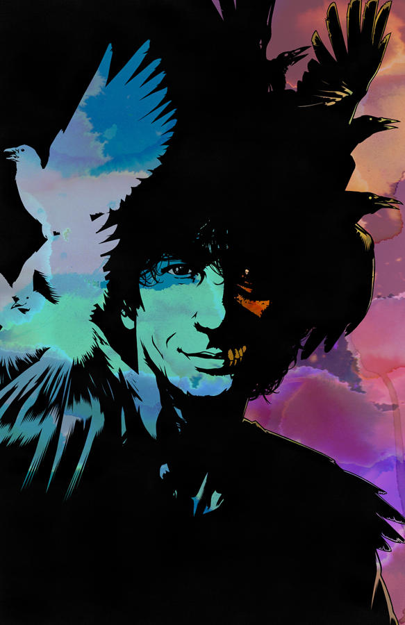 NEIL GAIMAN Tribute Cover for Bluewater Comics