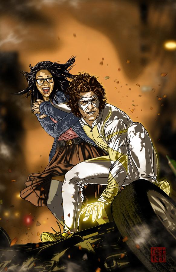 LIGHTWEIGHT #1 Cover for Metahuman Press