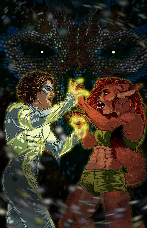 LIGHTWEIGHT #2 Cover for Metahuman Press