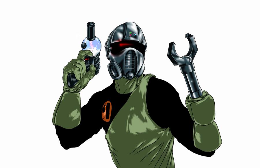 RETROSTAR - Cy-Dat Enforcer #4 by BrentJS