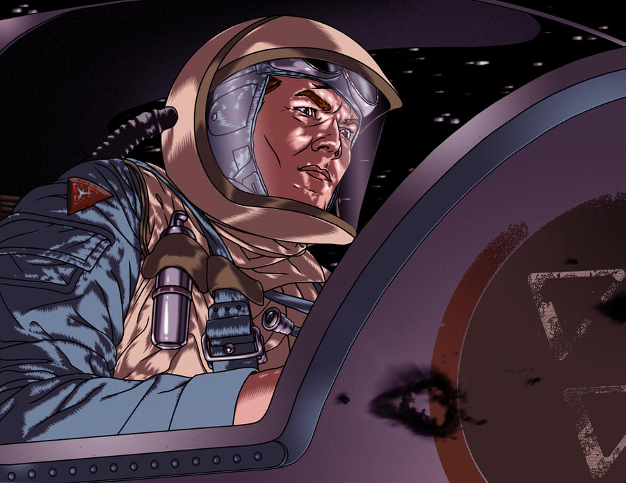 RETROSTAR - Christian 'Ace' Xavier in the Cockpit by BrentJS